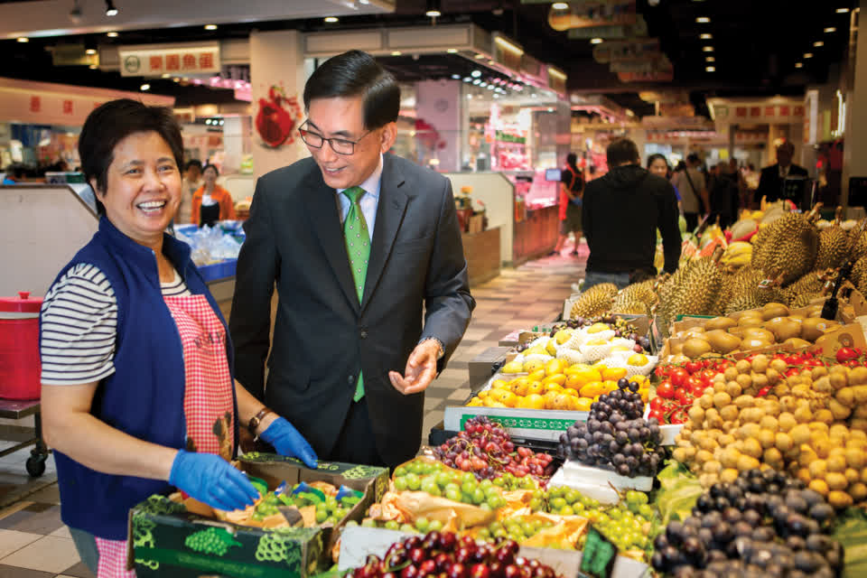 """Fresh markets form a very important part of the community, and we want to make sure that they are vibrant."" George Hongchoy, Link REIT CEO"